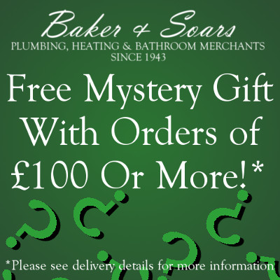 Free gift with orders £100 or over