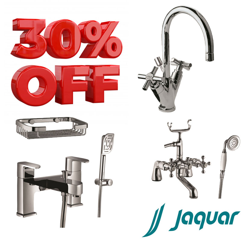 Jaquar up to 30 percent off on selected ranges