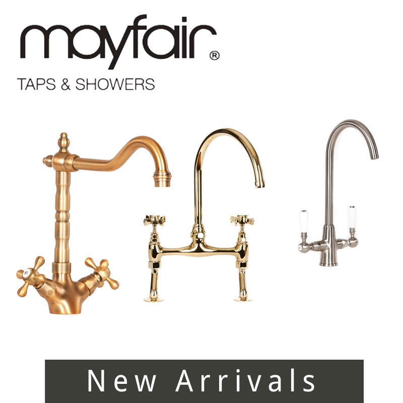 New Arrivals from Mayfiair Taps and Showers Spares and Replacement Parts