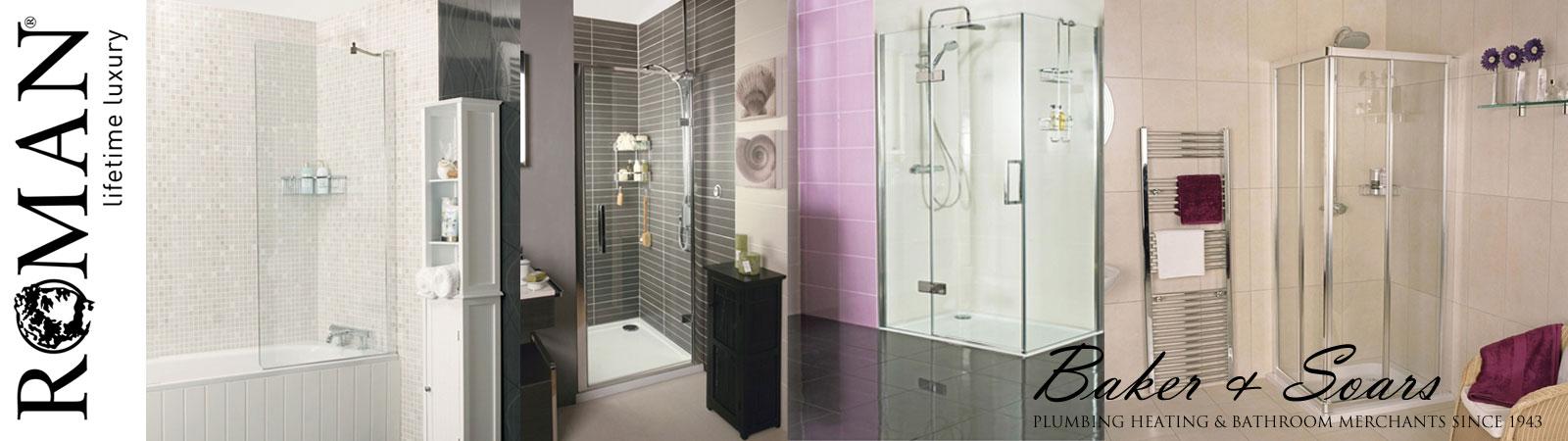 Roman Showers and bathroom lifestyle shots