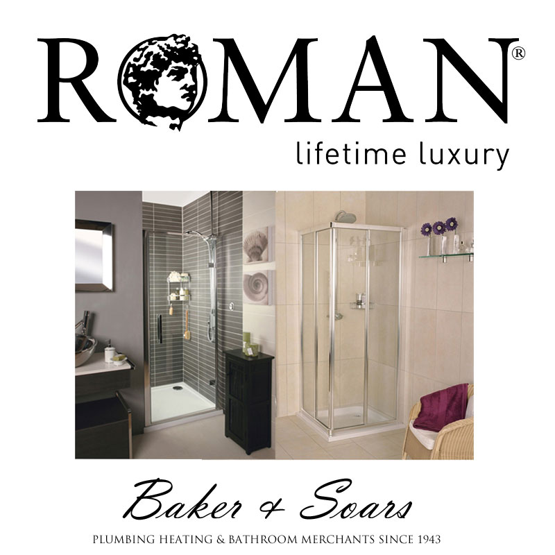 Roman Showers and bathroom lifestyle shots