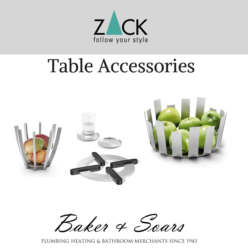 Zack Table Accessories with images of Table Accessories
