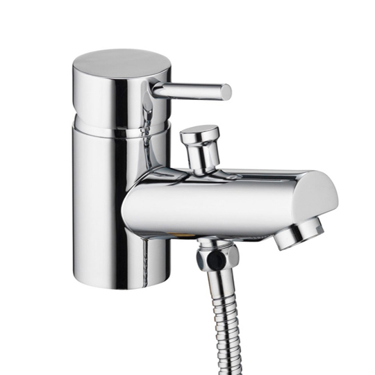 Pura Xcite Mono Bath Shower Mixer With Kit XCMBSM
