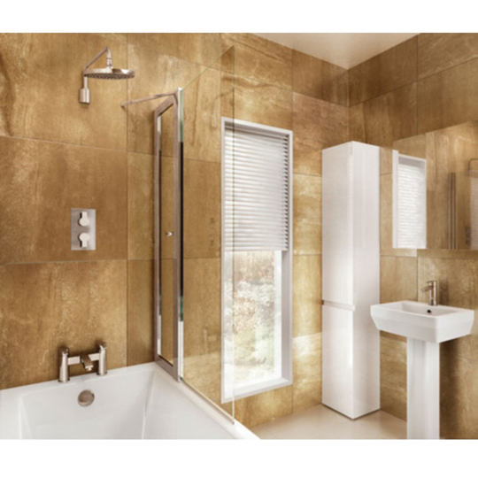 Bath Screens - Baker and Soars Plumbing Supplies