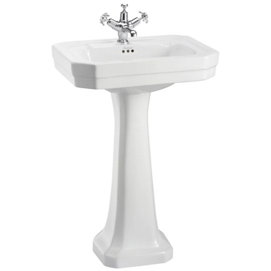 Burlington Victorian Basin 56cm B2 With Full Pedestal...