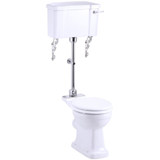 Burlington Medium Level WC With 51cm Wide Close...