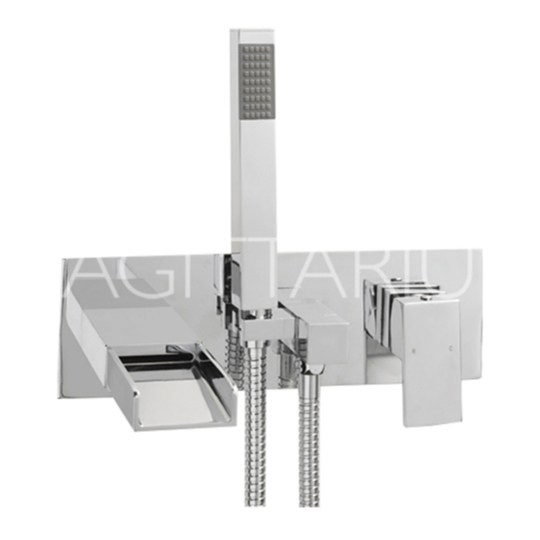Sagittarius Nice Wall Mounted Bath Shower Mixer...