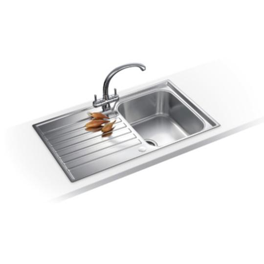 Franke Ascona Sink : Franke Ascona ASX 611-860 Stainless Steel Sink
