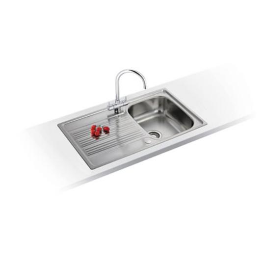 Kitchen Sink Zack: Franke Galileo GOX 611-86 Stainless Steel Sink