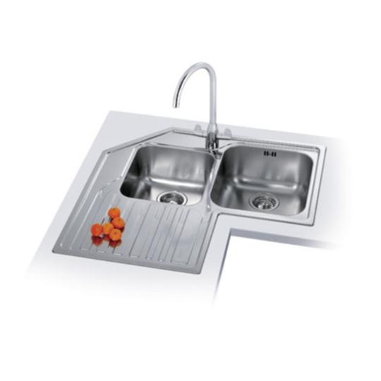 Kitchen Sink Zack: Franke Studio STX 621-E Stainless Steel Sink