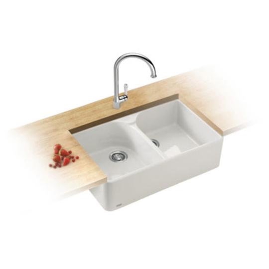Franke Ceramic Sink : Franke Belfast BAK 710 Ceramic Sink - Baker and Soars