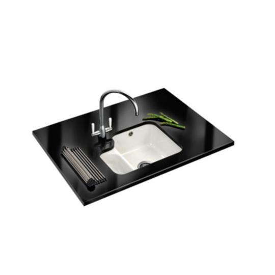 Franke Ceramic Sink : Franke Rotondo RUK 110 Ceramic Undermount Sink - Baker and Soars