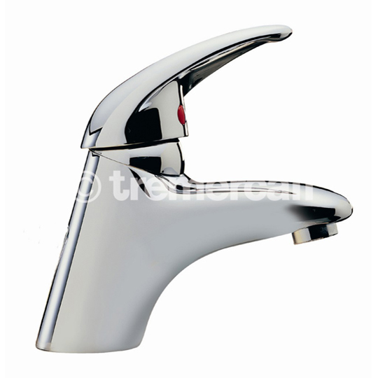 tre mercati latina mono basin mixer with click clack waste