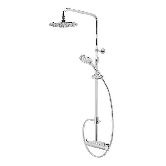 Roper Rhodes Storm Dual Function Exposed Shower System with Accessory Shelf SVSET37