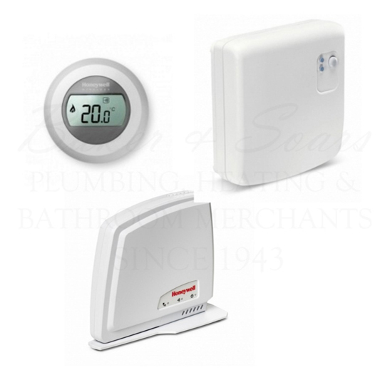 delta dore tybox 237 wireless programmable thermostat baker and soars. Black Bedroom Furniture Sets. Home Design Ideas