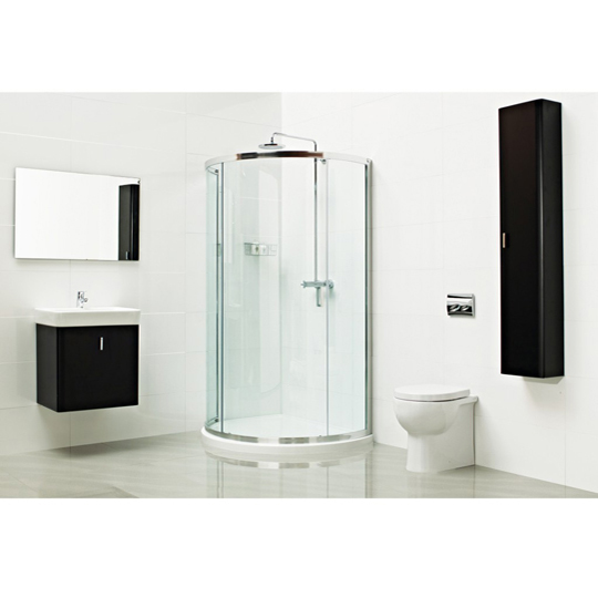 Roman Showers Lumin8 Bow Fronted Quadrant Shower Enclosure