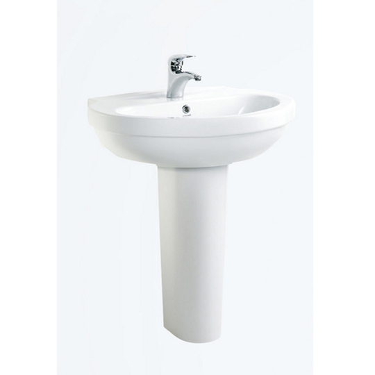 Creavit Dream 50x65cm Washbasin and Full Pedestal