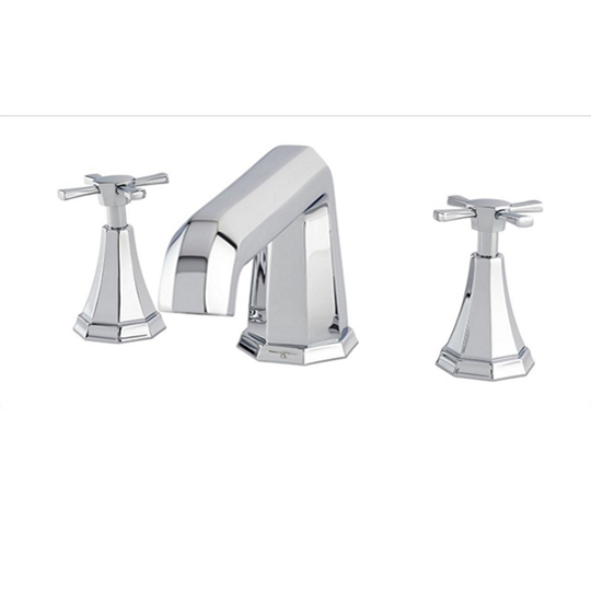 Perrin And Rowe Deco 3 Hole Deck Mounted Bath Filler...