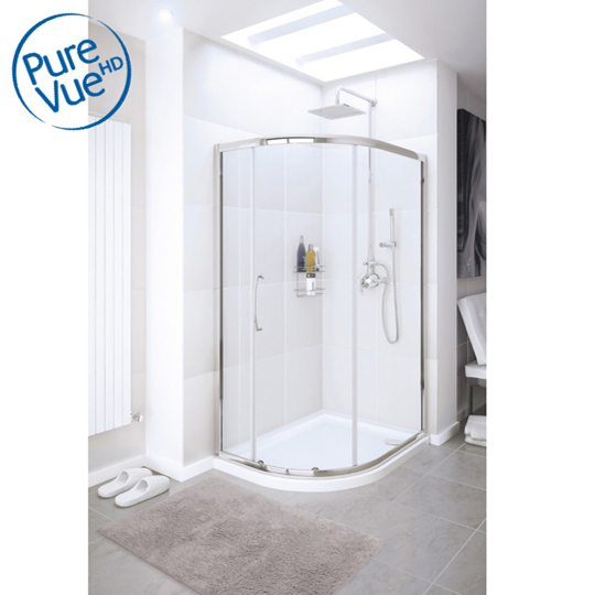 Roman Showers Embrace Two Door Quadrant Shower Enclosure