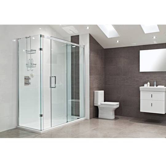 Roman Showers Decem Sliding Door Shower Enclosure