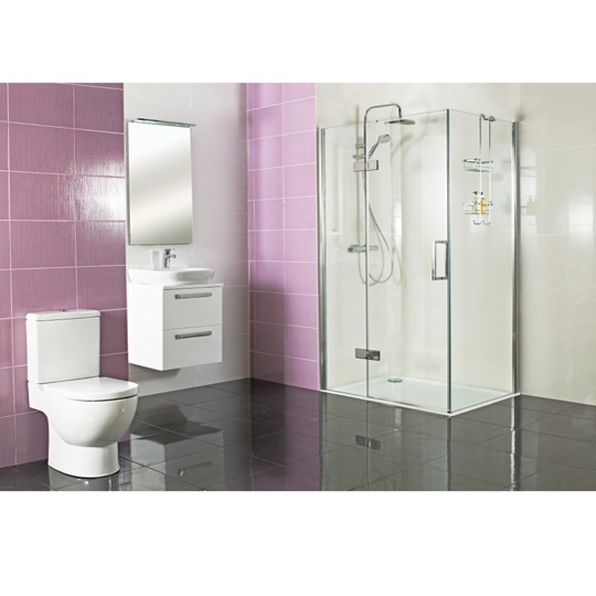 Kermi Raya Hinged Shower Door Silver Baker And Soars