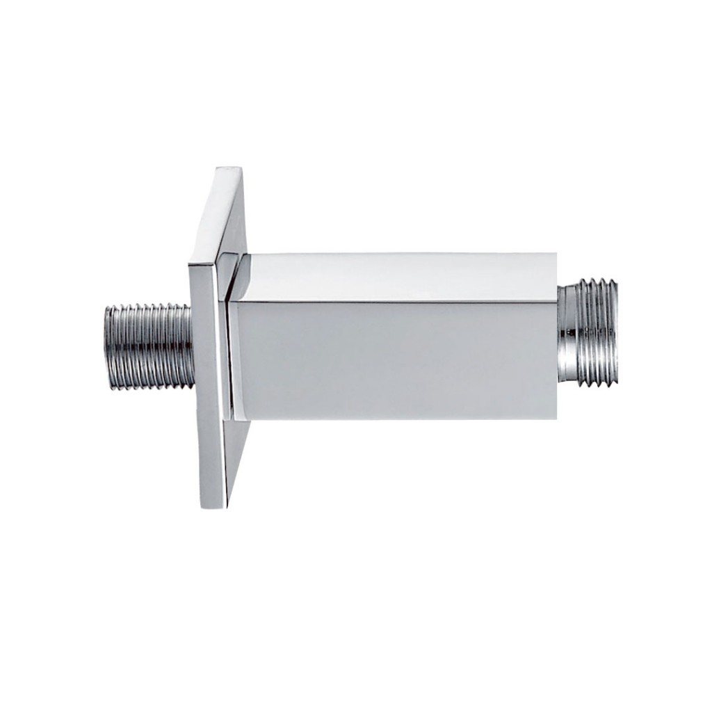 Pura Showers   K1031A Design Square Ceiling Mounted Shower Arm 75mm