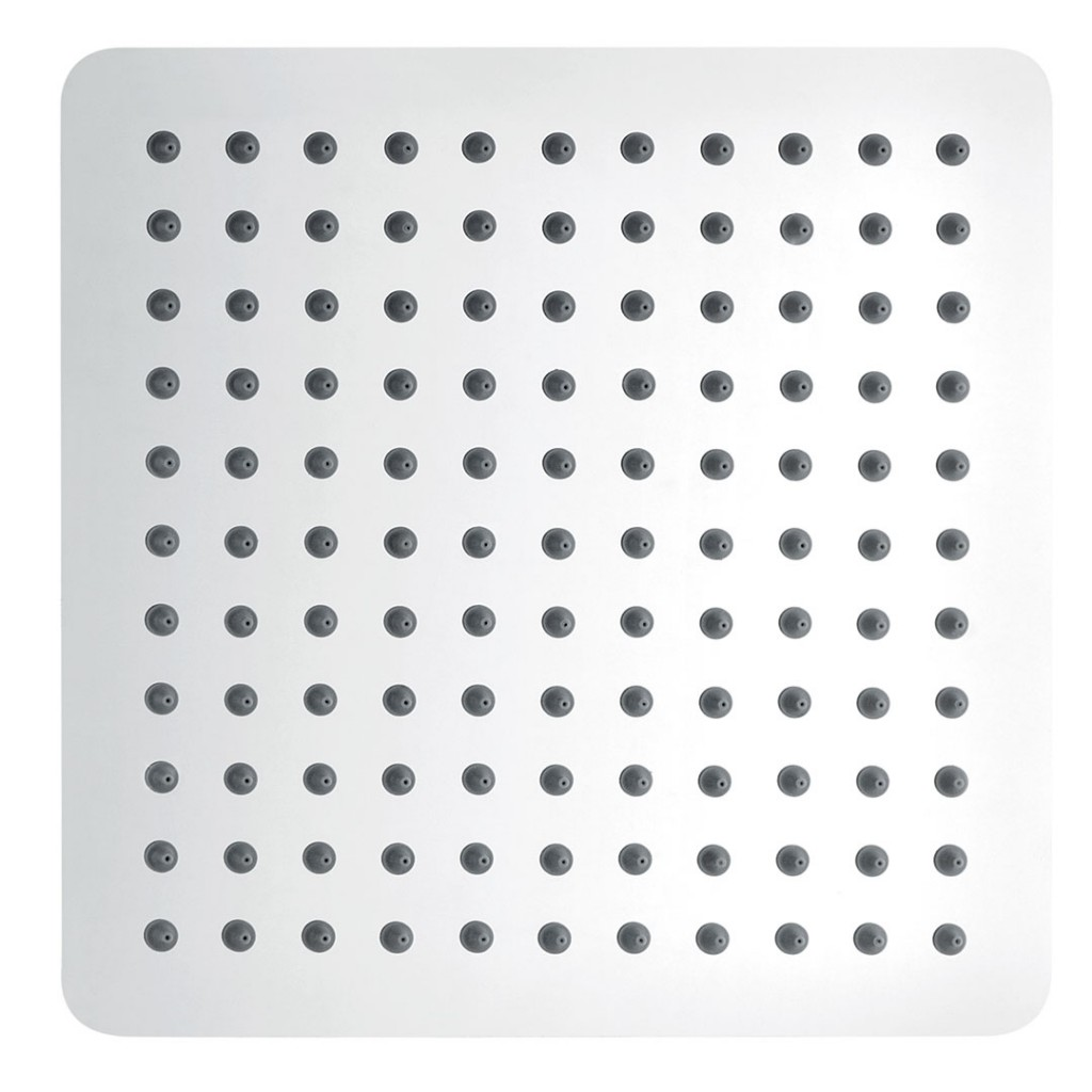 Pura Showers - KI074A Slimline Polished Square 250mm...