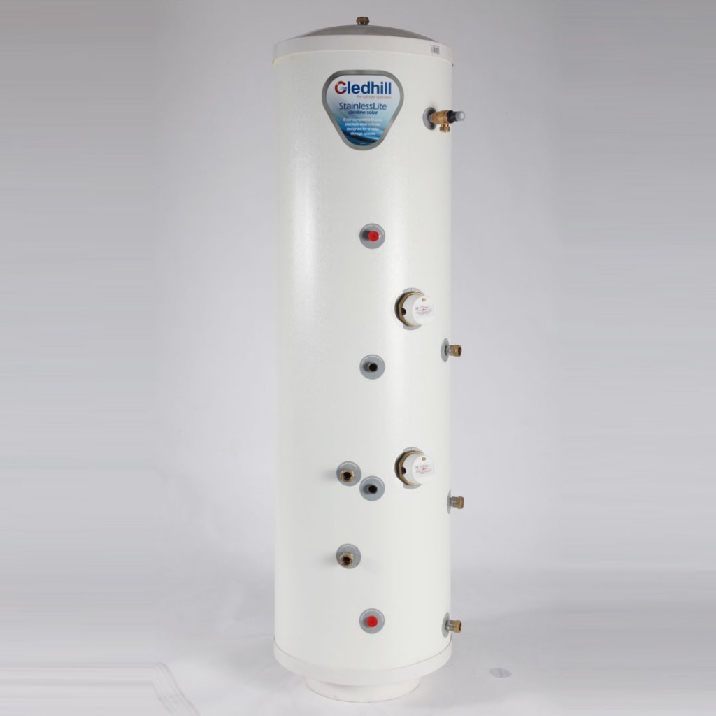 Stainless direct lite slimline unvented cylinder baker and soars