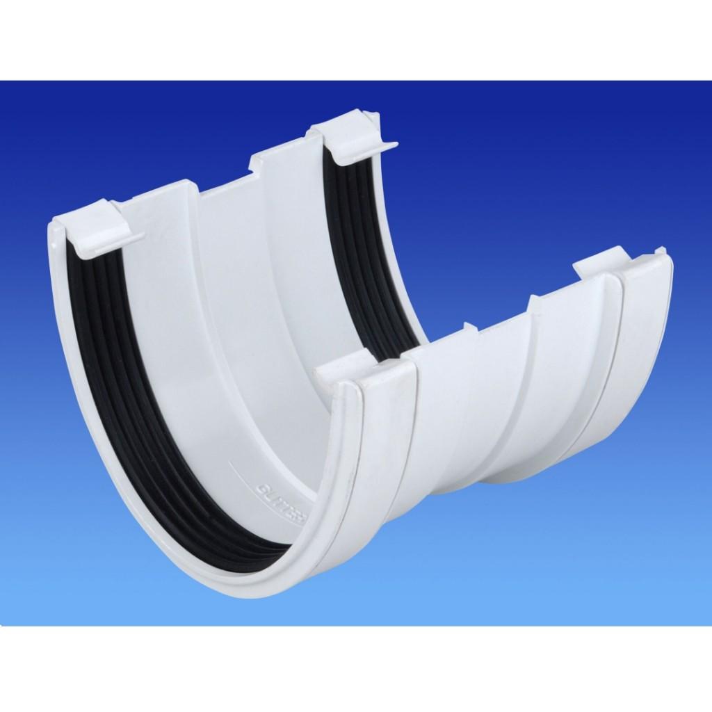 Osma 113mm PVC-U Gutter Union 9T909