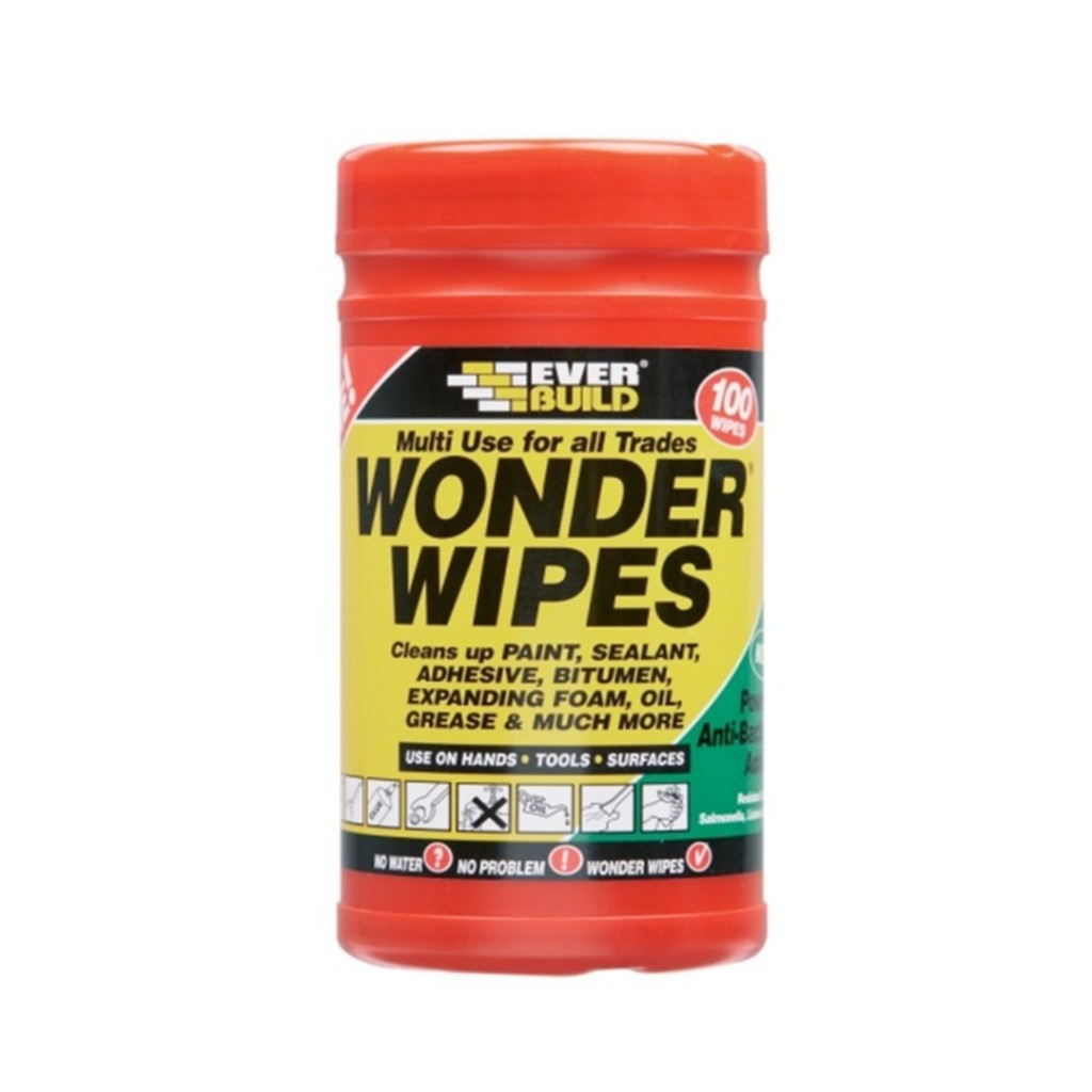 Everbuild Wonder Wipes 100
