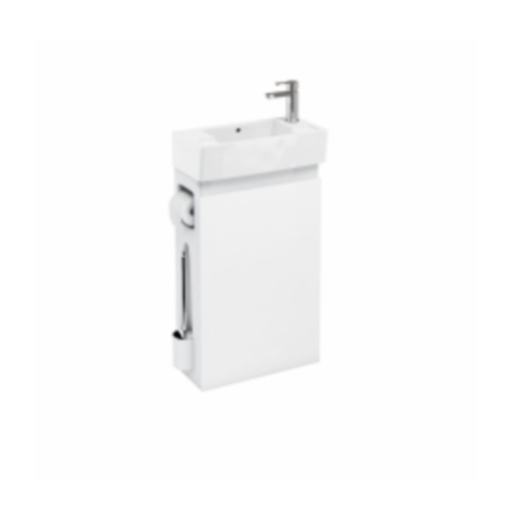 Bathroom All In One Units - Aqua cabinet cloakroom all in one unit