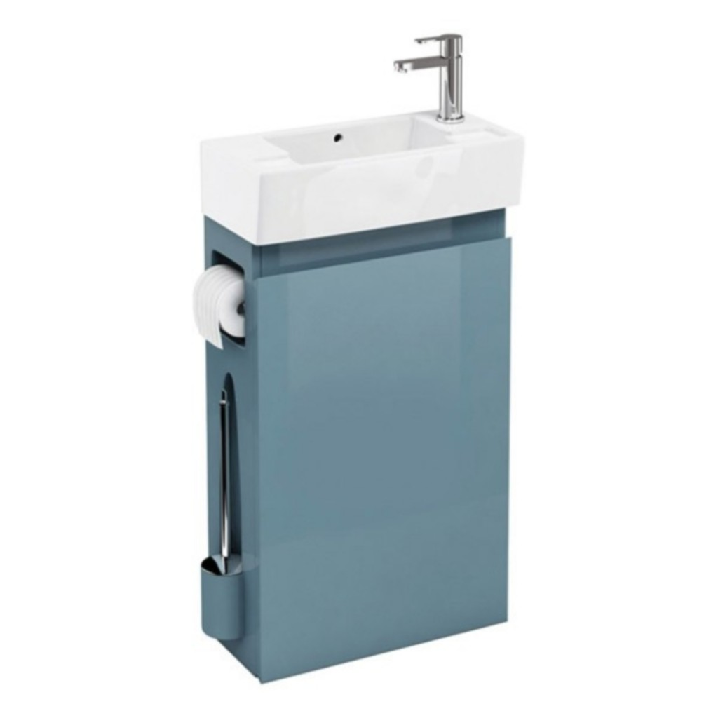 Aqua Cabinet Cloakroom All In One Unit - Baker and Soars