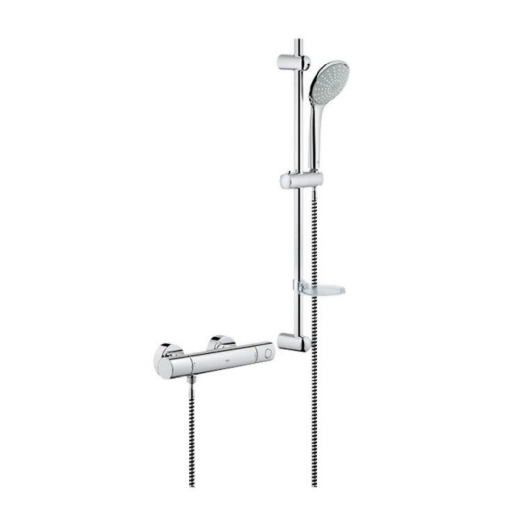 grohe cosmopolitan euphoria shower set 34437000 baker. Black Bedroom Furniture Sets. Home Design Ideas