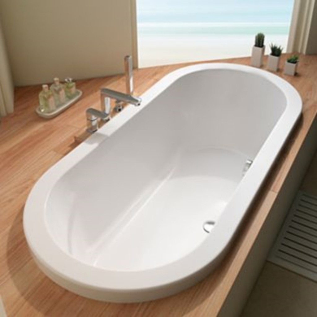 Carron Halcyon Round Inset Double Ended Bath 1750mm x...