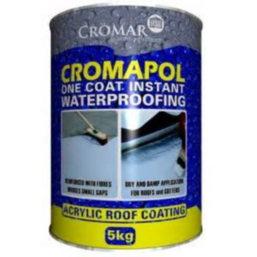 Cromapol Acrylic Roof Coating Grey