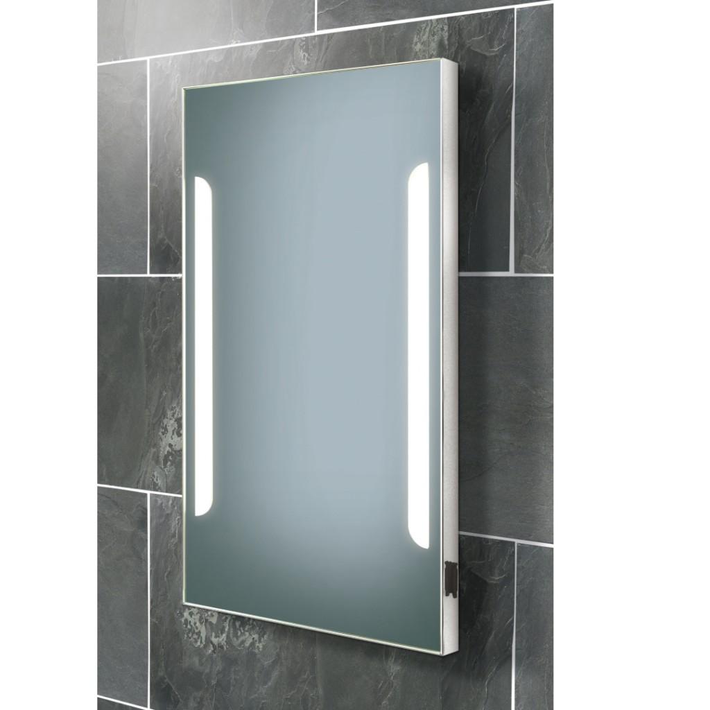 mirror with integrated lighting hib zenith fluorescent illuminated mirror art no 73105500 bathroom lighting and mirrors