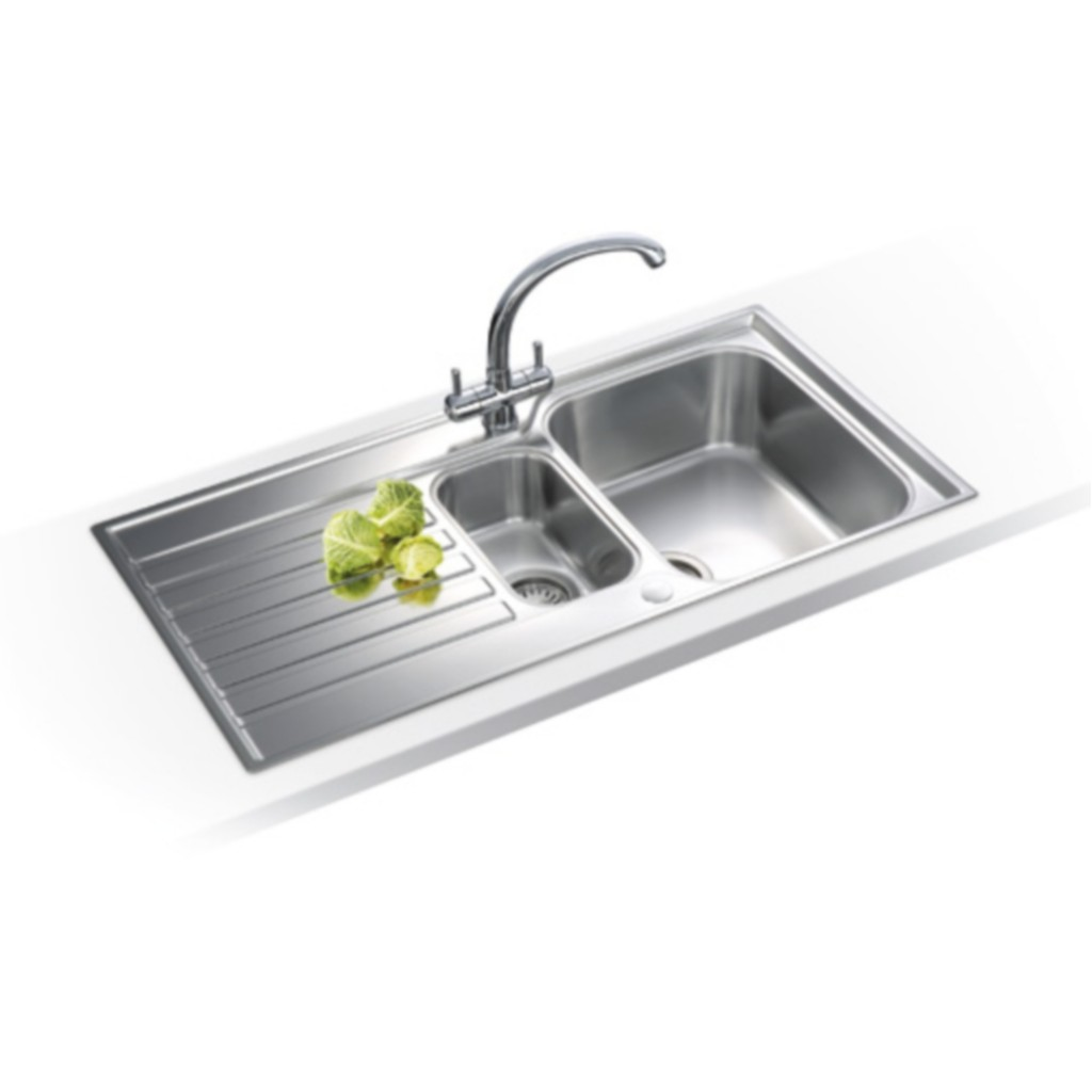 Stainless Steel Sink Cost : Franke Ascona ASX 651 Stainless Steel Sink - Baker and Soars