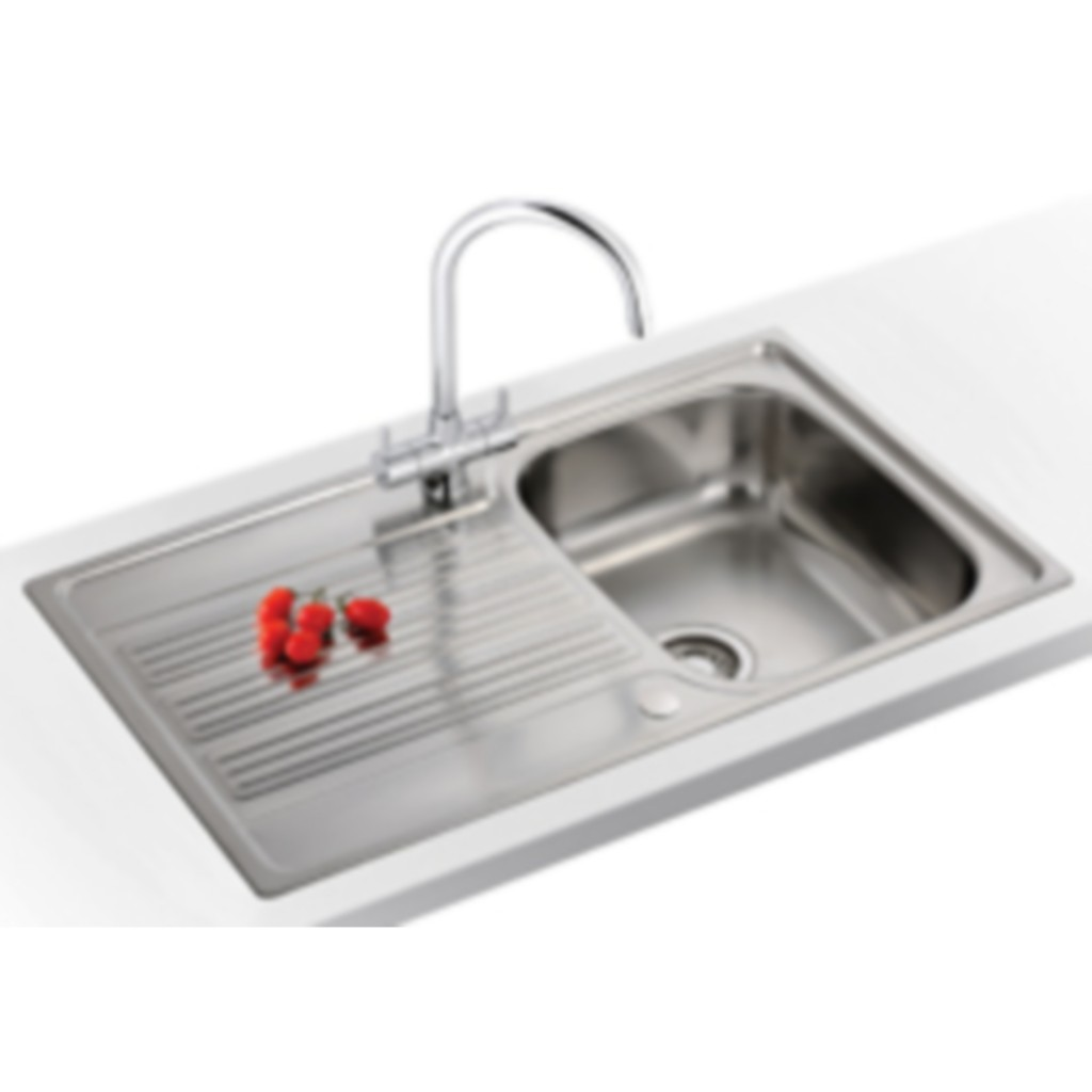 Franke Stainless Steel Sink : Franke Galileo GOX 611-86 Stainless Steel Sink - Baker and Soars