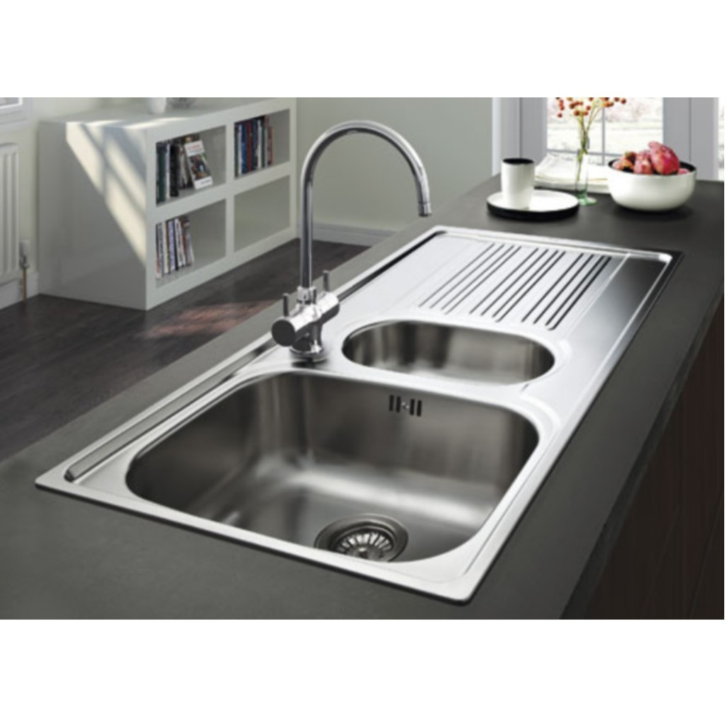Franke Stainless Steel Sink : Franke Galileo GOX 651 Stainless Steel Sink - Baker and Soars