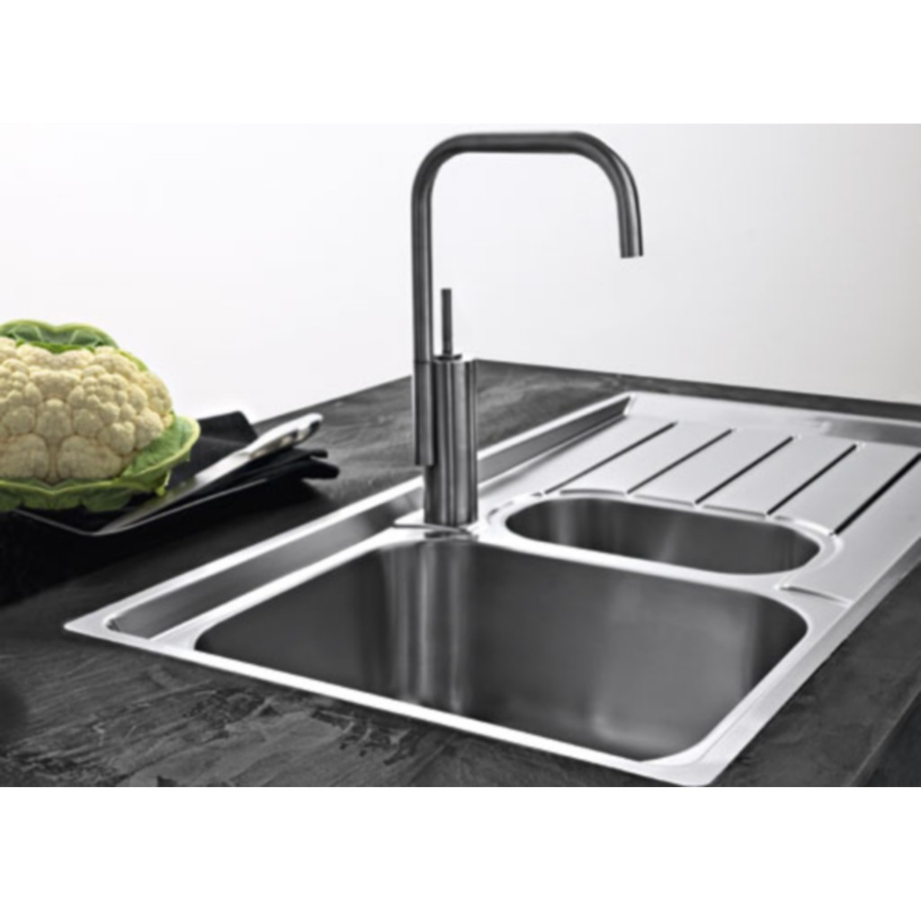 Neptune Sink : Franke Neptune NEX 251 Stainless Steel Sink - Baker and Soars