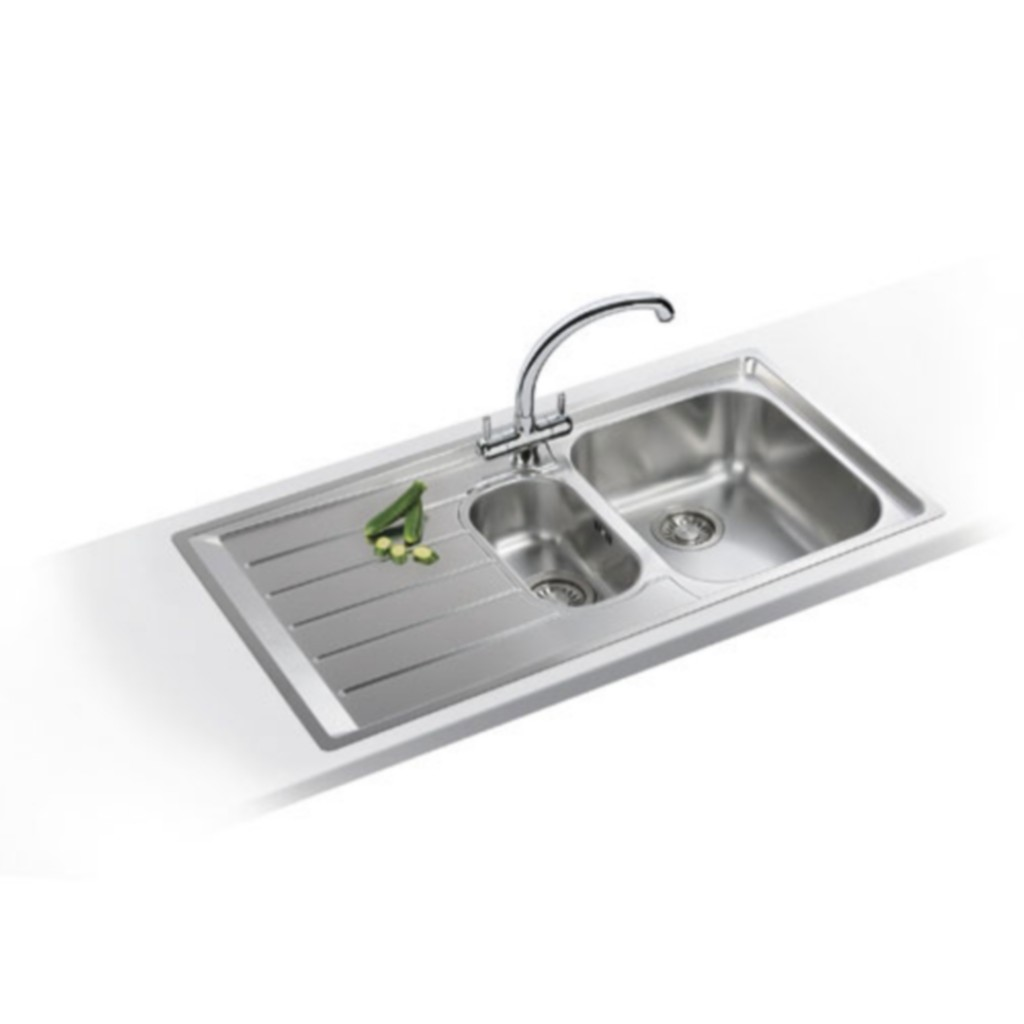 Franke Neptune NEX 251 Stainless Steel Sink - Baker and Soars