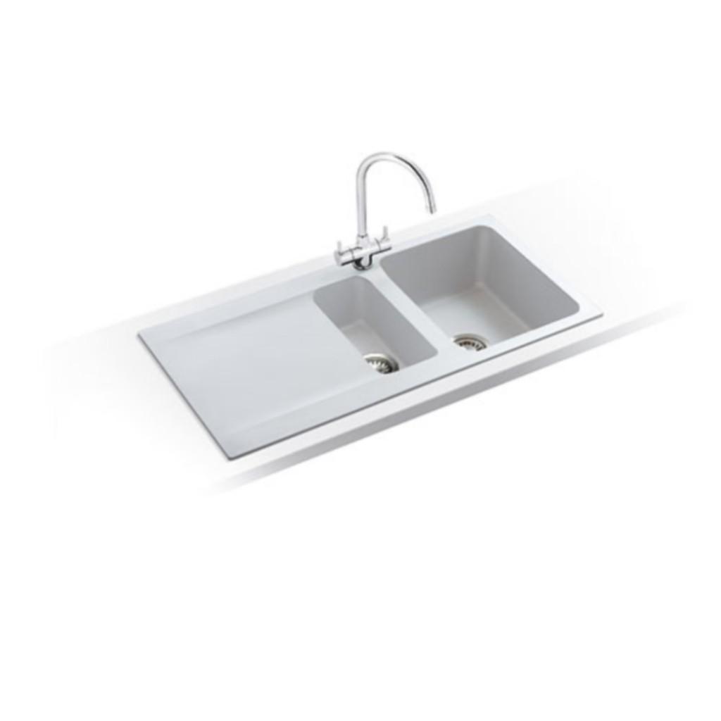 Tectonite Kitchen Sinks : Franke Orion OID 651 Tectonite Sink - Baker and Soars