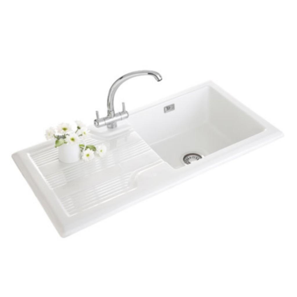 Franke Ceramic Sink : Franke Mythos MTK 651 Ceramic Sink - Baker and Soars