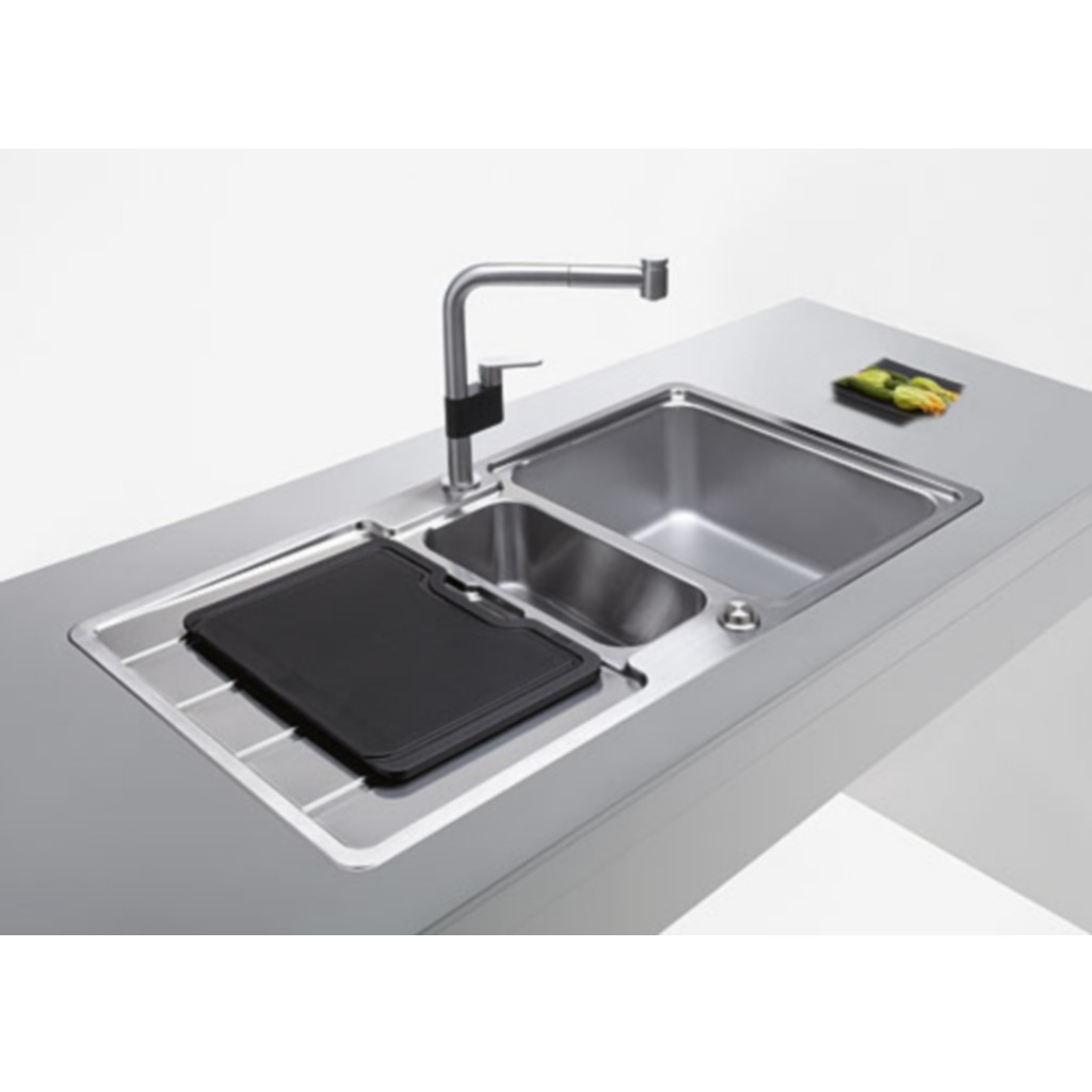 Franke Stainless Steel Sink : Franke Hydros HDX 654 Stainless Steel Sink - Baker and Soars