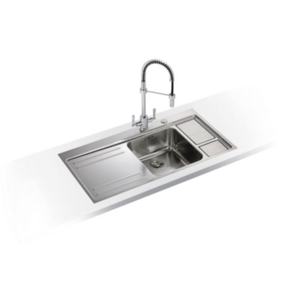 Franke Largo Workcentre LAX 211-W-36 Stainless Steel Sink - Baker and ...