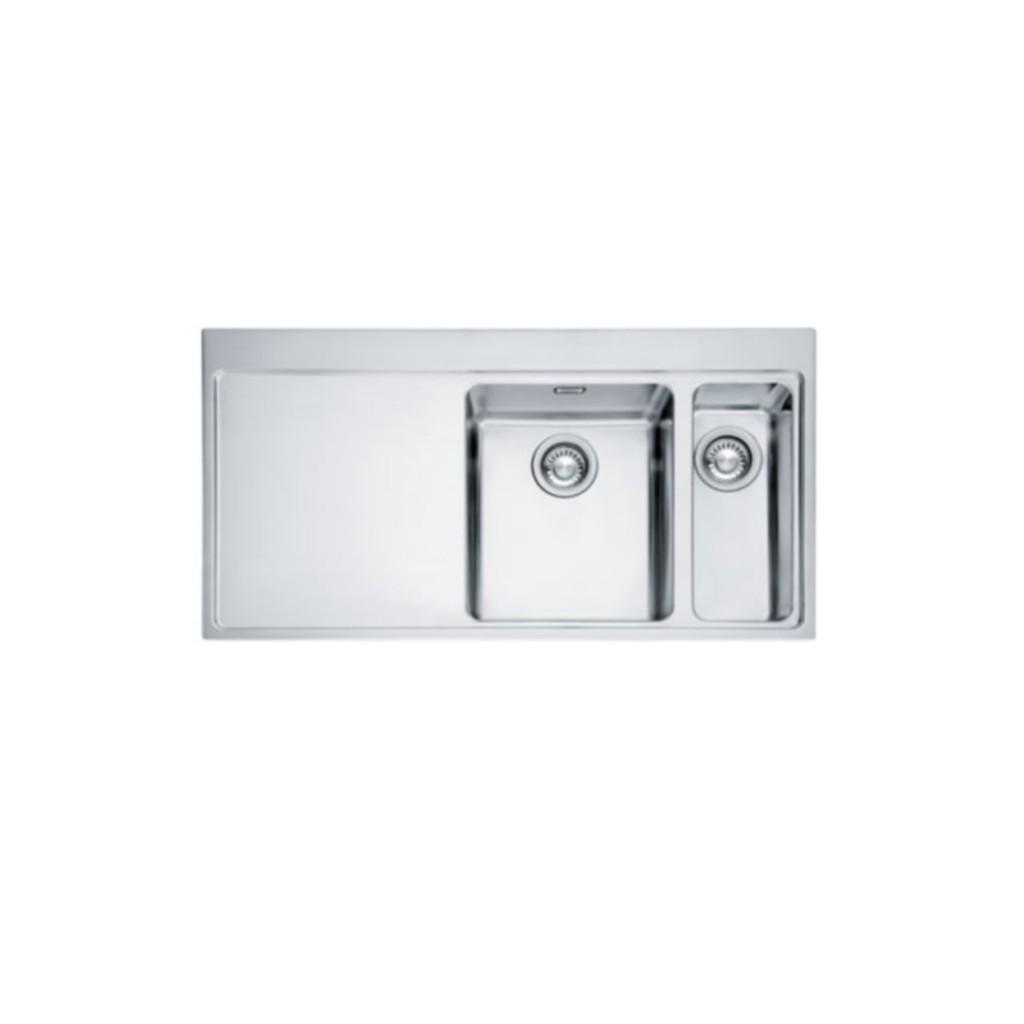 franke mythos slimtop mmx 261 stainless steel sink - Franke Sink