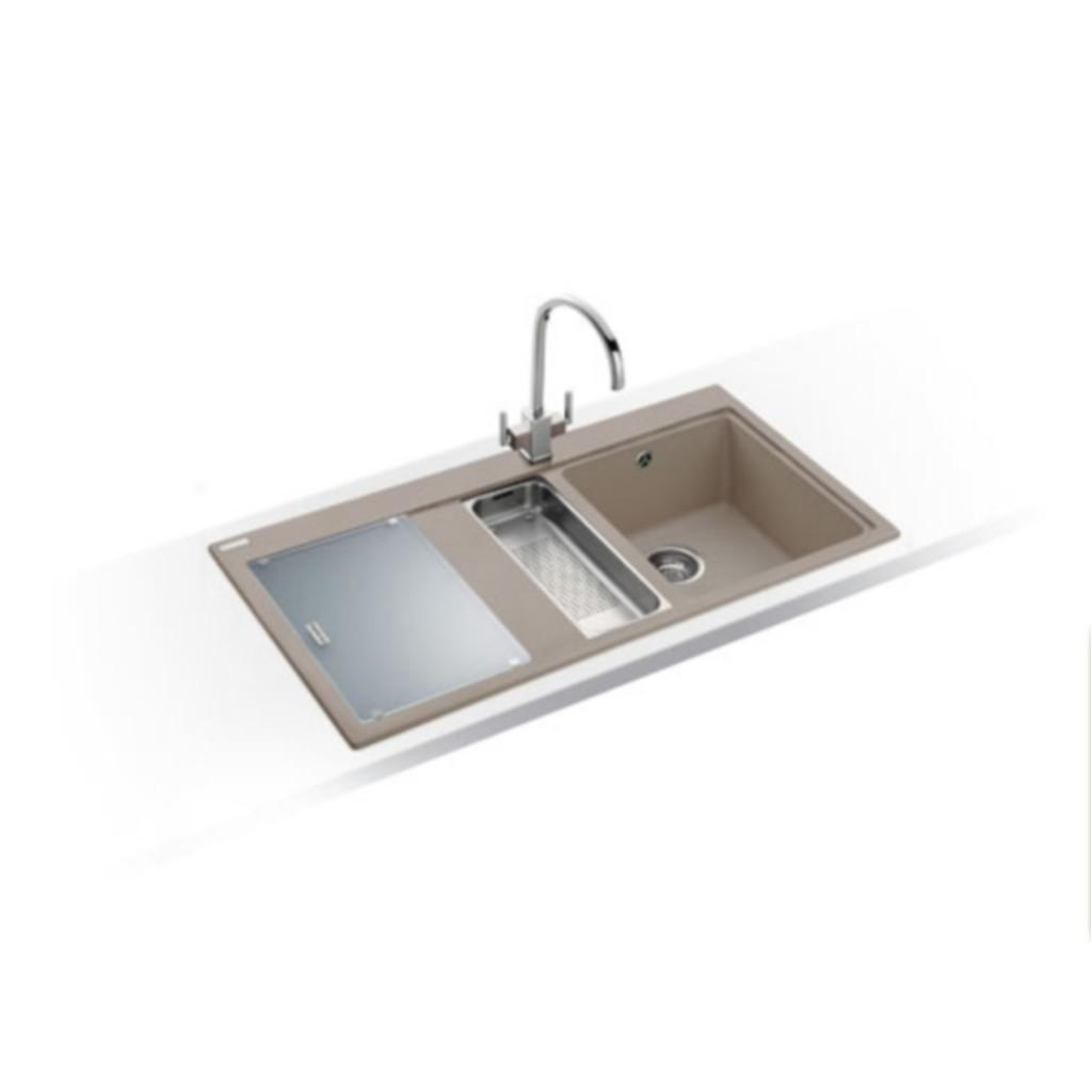 Franke 651 Sink : Franke Mythos MTG 651-100 Fragranite Sink - Baker and Soars
