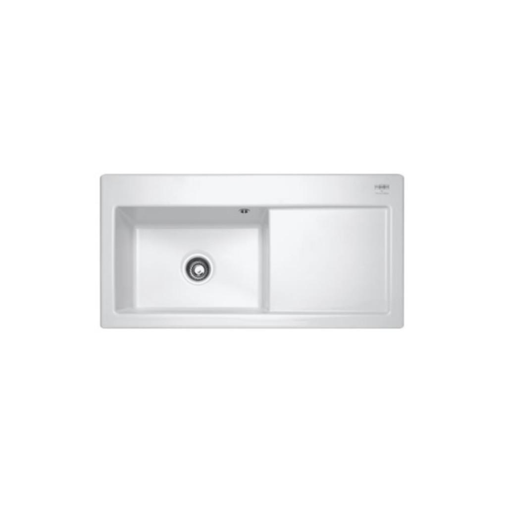 franke mythos mtk 611 ceramic sink baker and soars. Black Bedroom Furniture Sets. Home Design Ideas