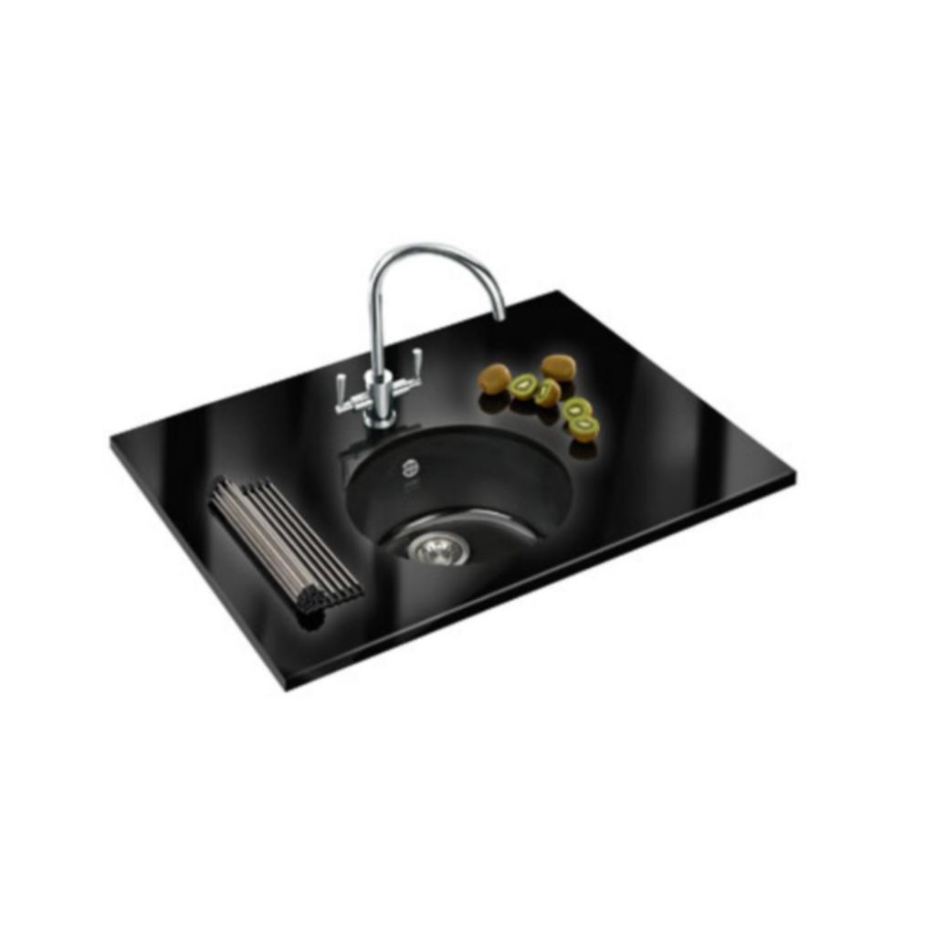 Kitchen Sink Zack: Franke Rotondo RUK 110 Ceramic Undermount Sink
