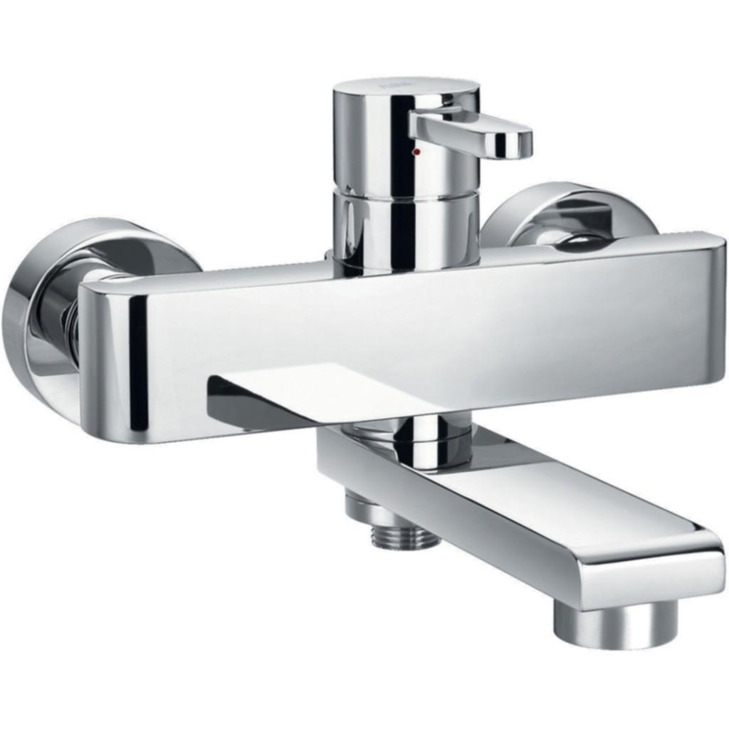 Flova Essence Wall Mounted Manual Single Lever Bath Shower Mixer ...